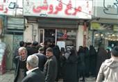 مرغ در بازار ایلام نایاب شد