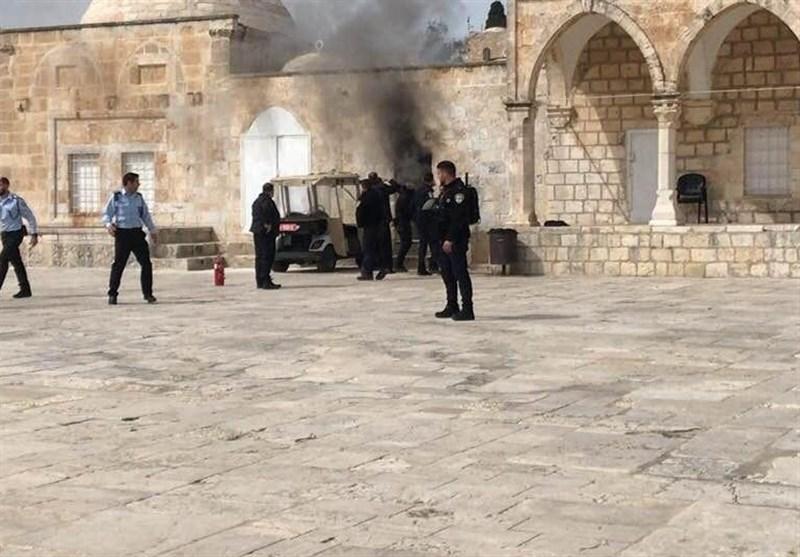 رژیم صهیونیستی مانع پخش اذان در مسجدالأقصی شد؛ هشدار کمیتههای مقاومت به اسرائیل