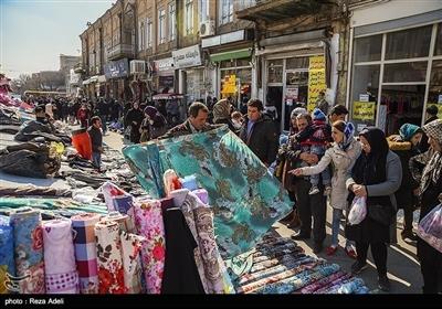 عید نوروزکی مناسبت سے ایران کے بازاروں میں رش