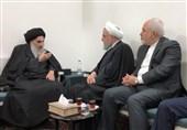 Iranian President Meets Ayatollah Sistani in Iraq