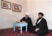روحانی از بیت امام خمینی در نجف بازدید کرد
