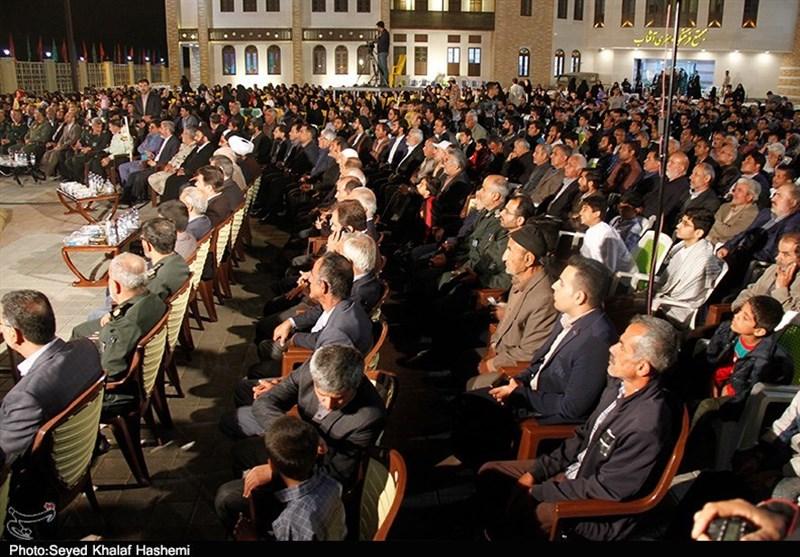 برگزاری یادواره سرداران و 556 شهید ناوتیپ 13 امیرالمومنین(ع) بوشهر به روایت تصویر