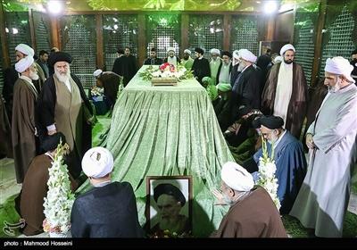 تجدید میثاق اعضای مجلس خبرگان با آرمان های امام خمینی (ره)