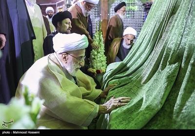 آیت الله جنتی در تجدید میثاق اعضای مجلس خبرگان با آرمان های امام خمینی (ره)