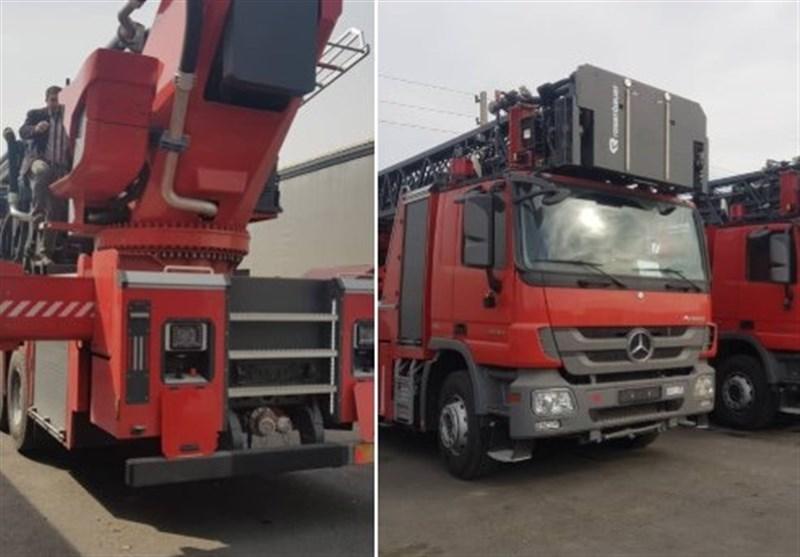ترخیص 22 دستگاه کامیون آتش نشانی سنگین همزمان با نزدیک شدن به چهارشنبه آخر سال