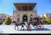 """بالصور.. قصر """"عالی قابو"""" فی مدینة اصفهان"""