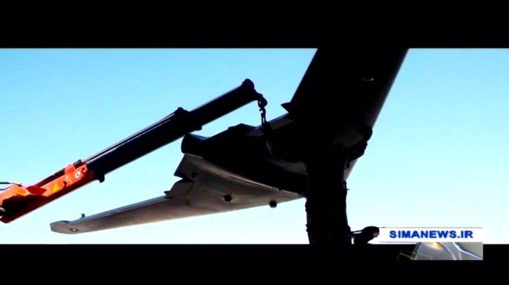 رزمایش سپاه با rq170  ایرانی