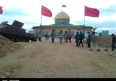 حضور کاروان سپاه استان ایلام در مناطق عملیاتی به روایت تصویر