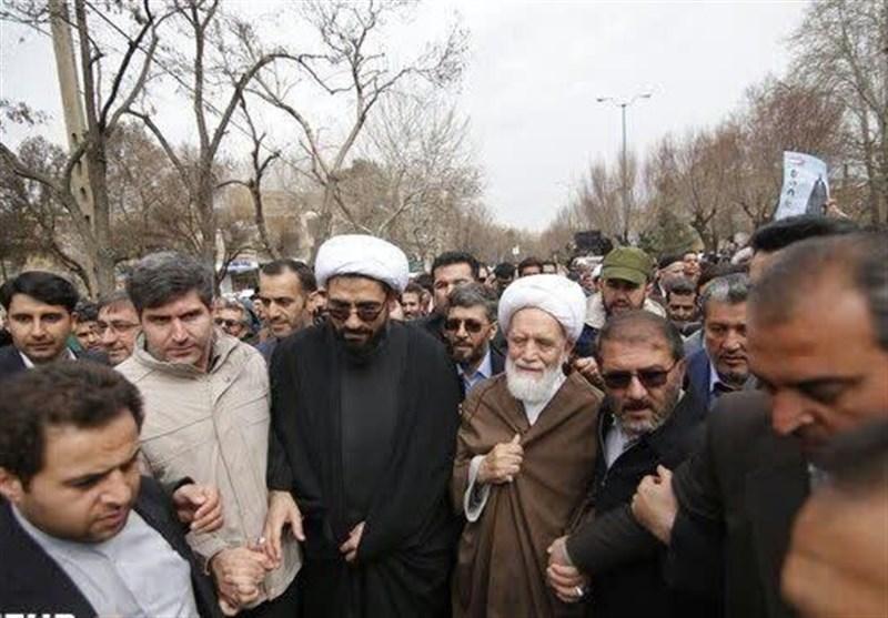 استقبال باشکوه مسئولان و مردم از نماینده جدید ولی فقیه در استان همدان