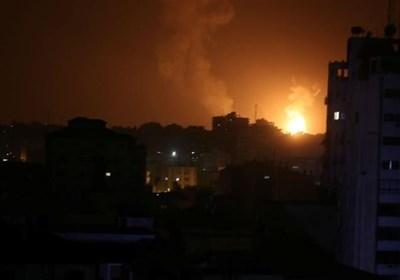 اسرائیل کی غزہ میں حماس کے دفاتر پر بمباری