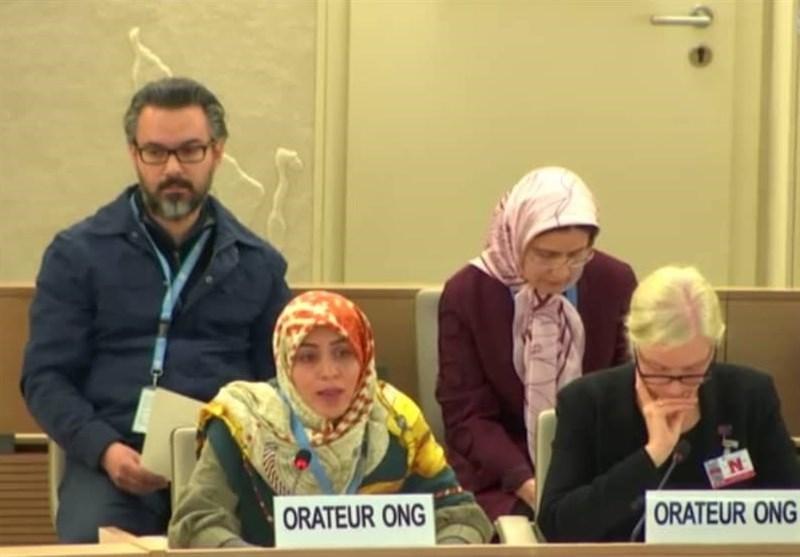 سخنرانی نماینده ایران در نشست بررسی وضعیت حقوق بشر عربستان در ژنو