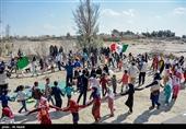 کاروان پیک امید در طرح امداد فرهنگی