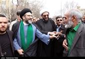 استقبال از حجت الاسلام حبیب الله شعبانی امام جمعه جدید همدان