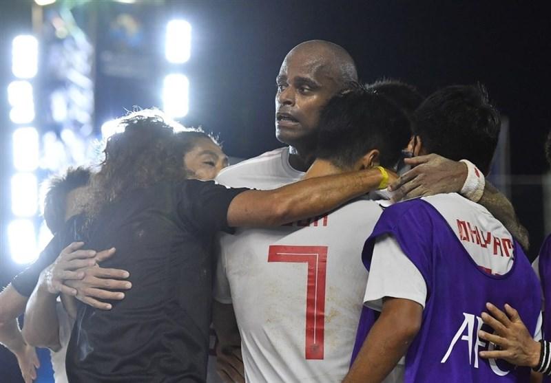 فوتبال ساحلی قهرمانی آسیا| ژاپن و امارات به فینال مسابقات راه یافتند