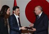 حضور اردوغان به عنوان شاهد مراسم ازدواج مسعود اوزیل