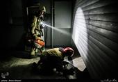 تصاویر دیده نشده از آتشسوزی در مجتمع پایتخت