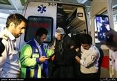83 مصدوم در حوادث چهارشنبه آخر سال کشور تا ساعت 18 امروز