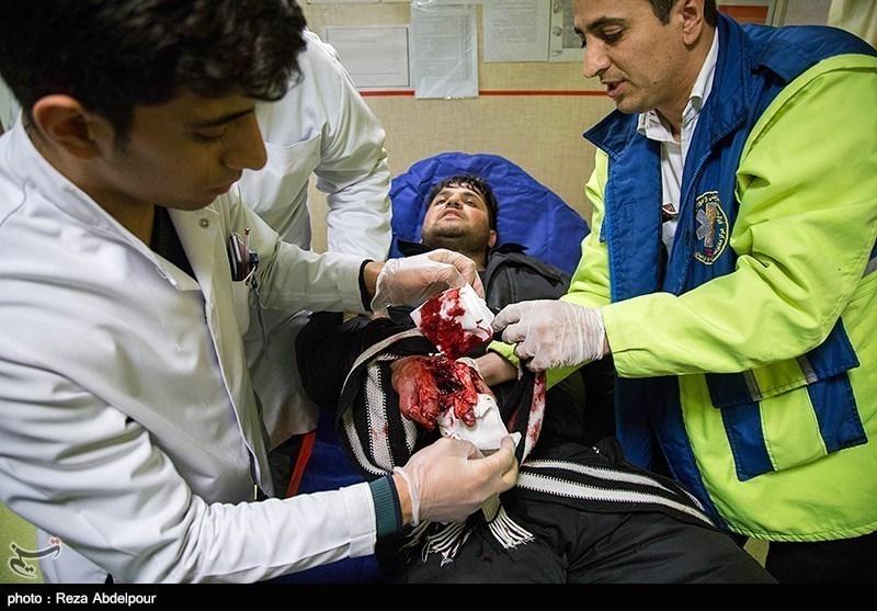 آمار مصدومان چهارشنبه آخر سال در کرمانشاه به 22 نفر افزایش یافت