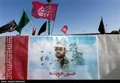 """مردم رشت با پاسدار شهید """"حسین جوینده"""" وداع کردند"""