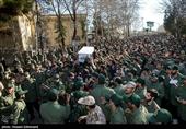 پیکر شهید مدافع حرم «اسدی» در زادگاهش آرام گرفت