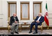 دیدار نماینده رئیس جمهوری افغانستان با ظریف