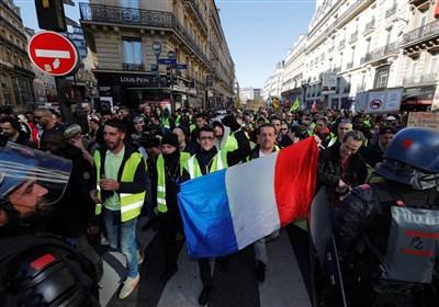 مظاهرات وأعمال شغب فی باریس