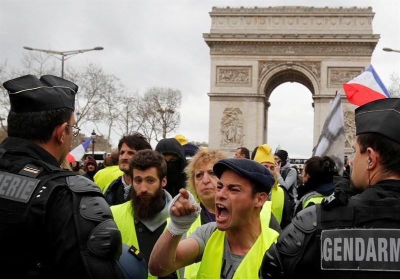 بسیج جلیقه زردهای فرانسه برای برپایی تظاهرات گسترده