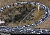 محورهای هراز و کندوان دارای ترافیک سنگین است