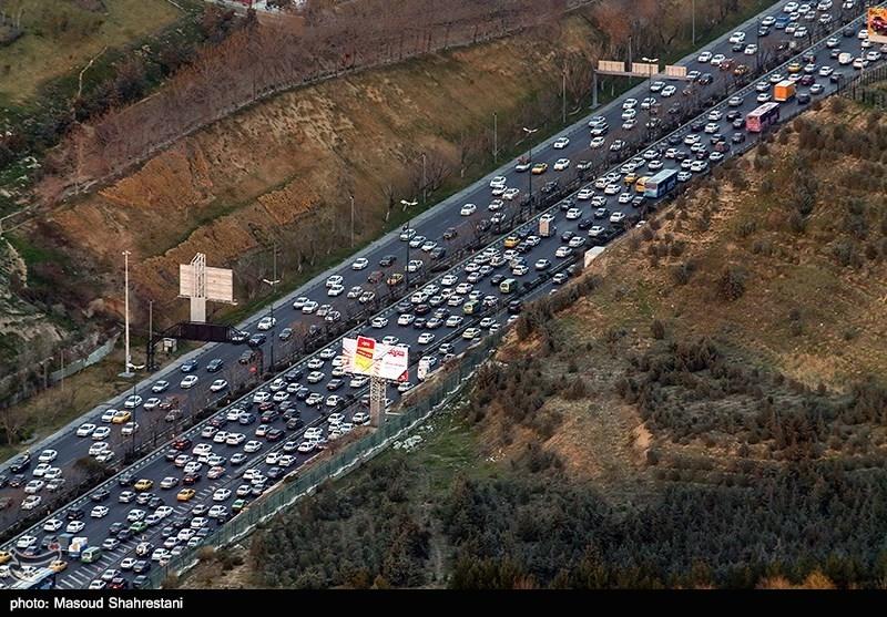 آخرین وضعیت راهها| محورهای مواصلاتی 11 استان زیر بار ترافیک