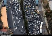 ترافیک در محورهای مواصلاتی مازندران پرحجم است