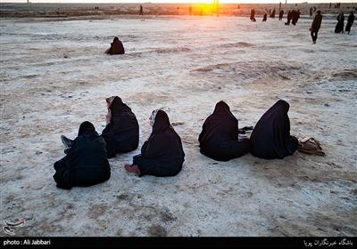 حضور کاروان راهیان نور در مناطق عملیاتی هشت سال دفاع مقدس شلمچه