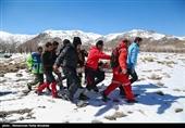 بیش از 300 نفر در برف و کولاک کرمان امدادرسانی شدند
