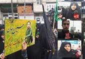 """پیکر پاسدار شهید """"جوینده"""" در گلزار شهدای رشت آرام گرفت + فیلم"""