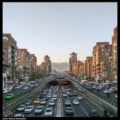 ترافیک شب عید
