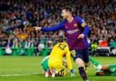 فوتبال جهان|بارسلونا در شب رکوردشکنی و هتتریک مسی اختلاف با اتلتیکو را دورقمی کرد