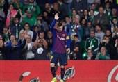 فوتبال جهان| مسی: واکنش مسی به تشویق شدن از سوی هواداران بتیس: هرگز چنین شبی را تجربه نکرده بودم