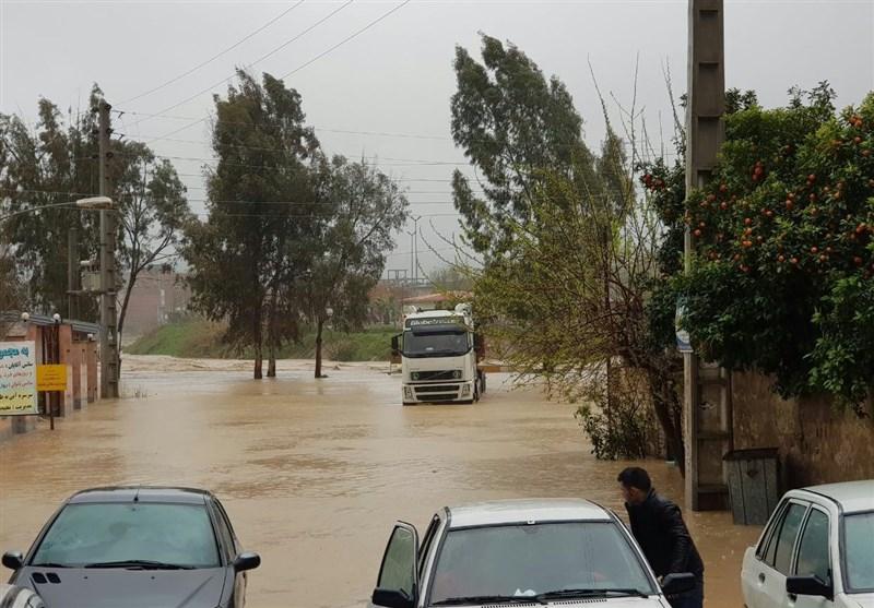 هشدار کولاک برف و سیلاب در استانهای شمالی