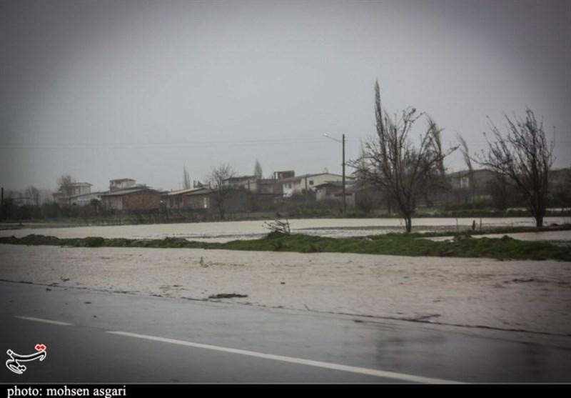 احتمال وقوع سیلاب در بخشهایی از گلستان/ مردم از نزدیک شدن به رودخانهها خودداری کنند