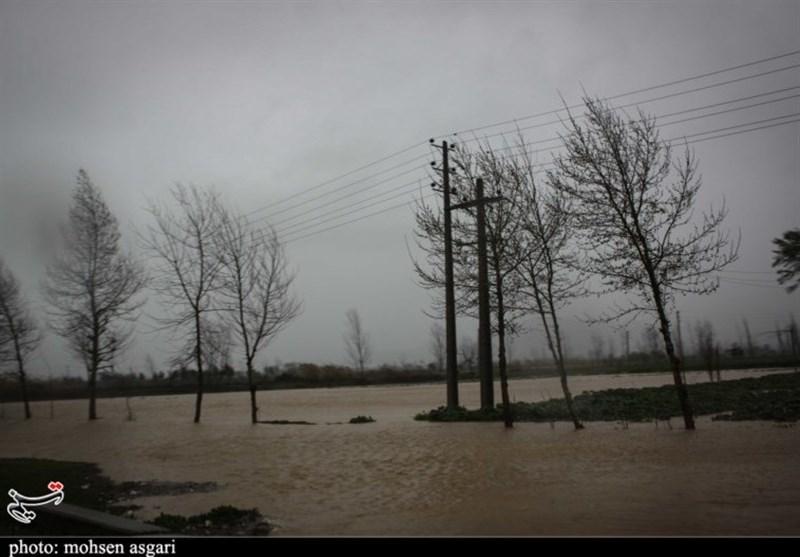 محور بندرترکمن به یساقی همچنان مسدود است؛ تردد عادی و روان در جادههای استان گلستان