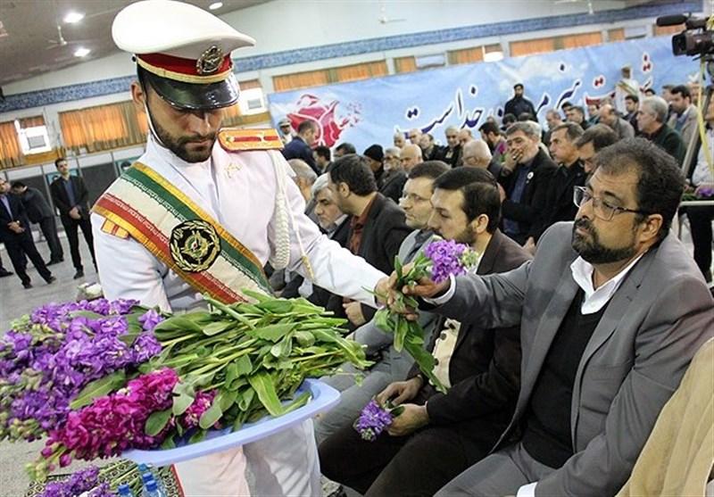 دیدار با پدران آسمانی در گلزار شهدای تهران