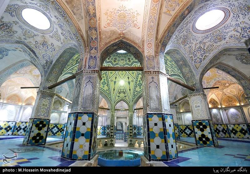 Sultan Amir Ahmad Bathhouse in Iran: Perfect Combination of Art, Culture