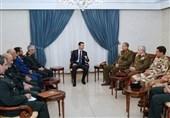 الأسد : العلاقة التی تجمع سوریة بإیران والعراق متینة