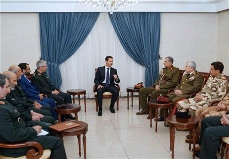 Syrian President Hails Ties with Iran, Iraq