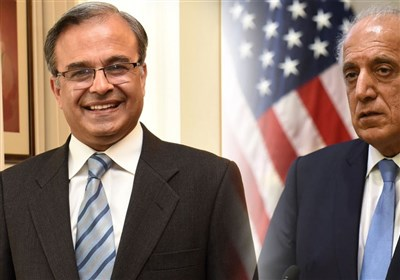 پاکستانی سفیر کی زلمے خلیل زاد سے ملاقات