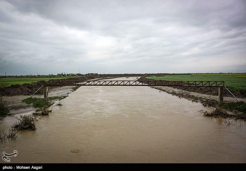 چهارمین روز سیلاب در استان گلستان؛ نیمی از آققلا زیر آب رفت+فیلم