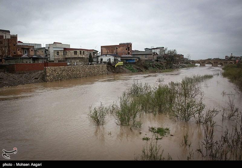 بیشتر نقاط شهر گنبدکاووس دچار آبگرفتگی شد؛ آب سد گلستان 150 سانتیمتر فروکش کرد