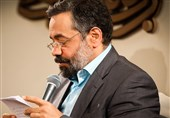 مولودی خوانی محمود کریمی به مناسبت عید غدیر