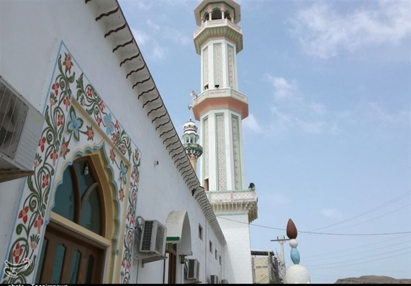 Tiss Great Mosque in Iran's Chabahar