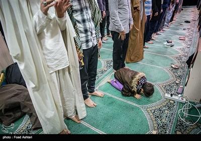 مراسم معنوی اعتکاف در دانشگاه امیرکبیر