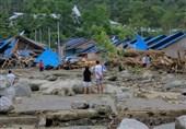 89 کشته و دهها مفقودالاثر بر اثر سیلاب و رانش زمین در اندونزی
